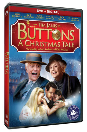 Buttons: A Christmas Tale on DVD