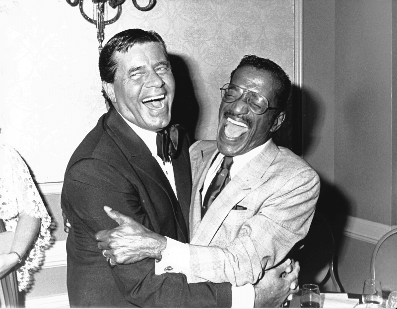 Jerry Lewis and Sammy Davis, Jr.