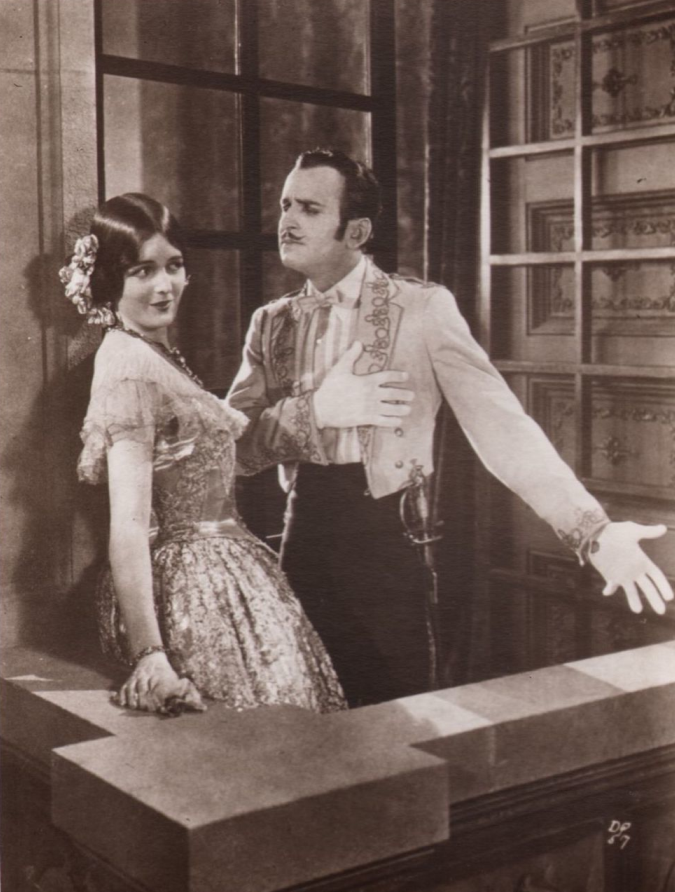 Mary Astor and Douglas Fairbanks, Don Q Son of Zorro