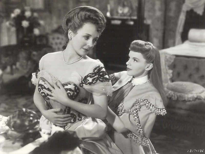 Mary Astor and Judy Garland Meet Me in St. Louis Publicity still
