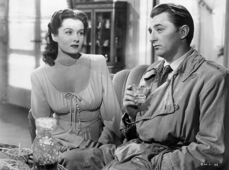 Rhonda Fleming and Robert Mitchum (Out of the Past)