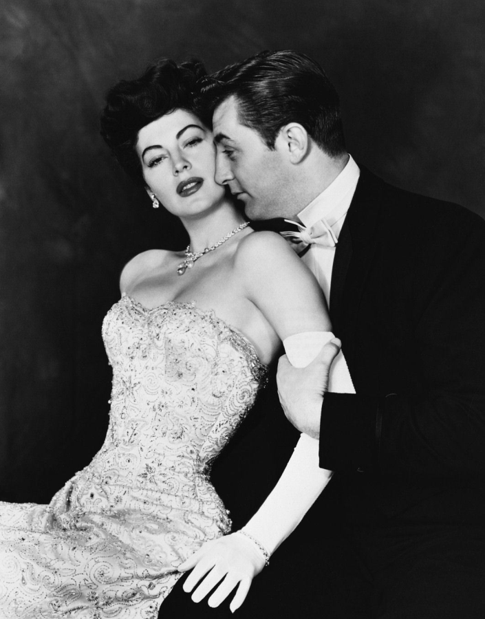 Ava Gardner and Robert Mitchum, My Forbidden Past