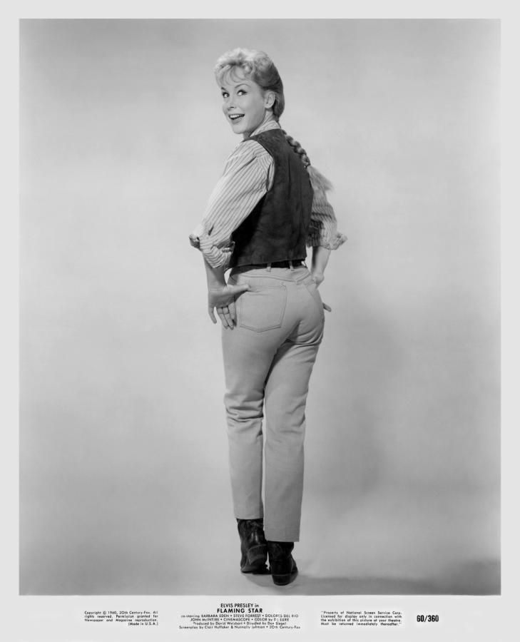 Barbara Eden, Flaming Star (1960)
