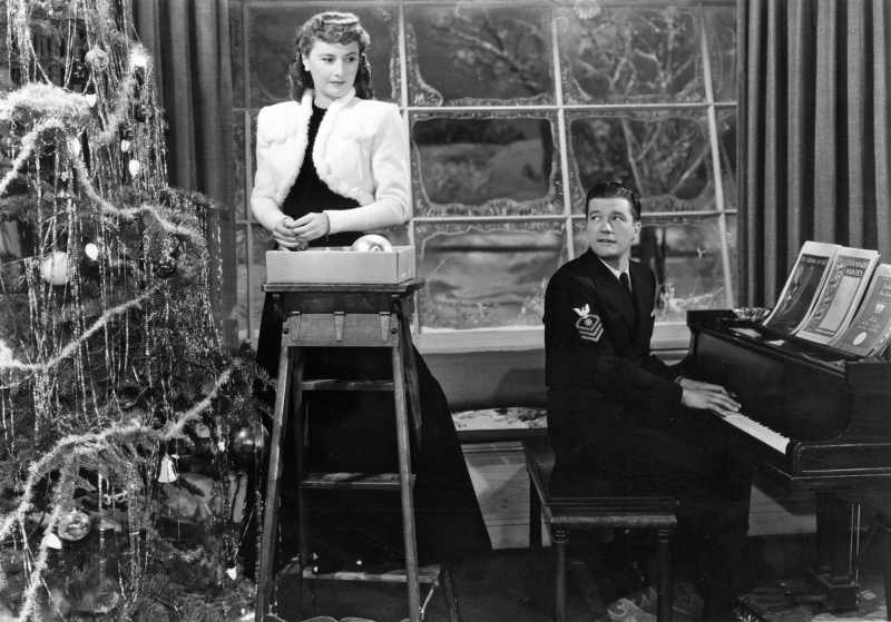 Barbara Stanwyck and Dennis Morgan, Christmas in Connecticut