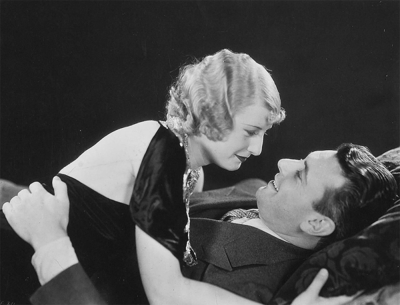 Barbara Stanwyck and George Brent, Baby Face Promotional Photo