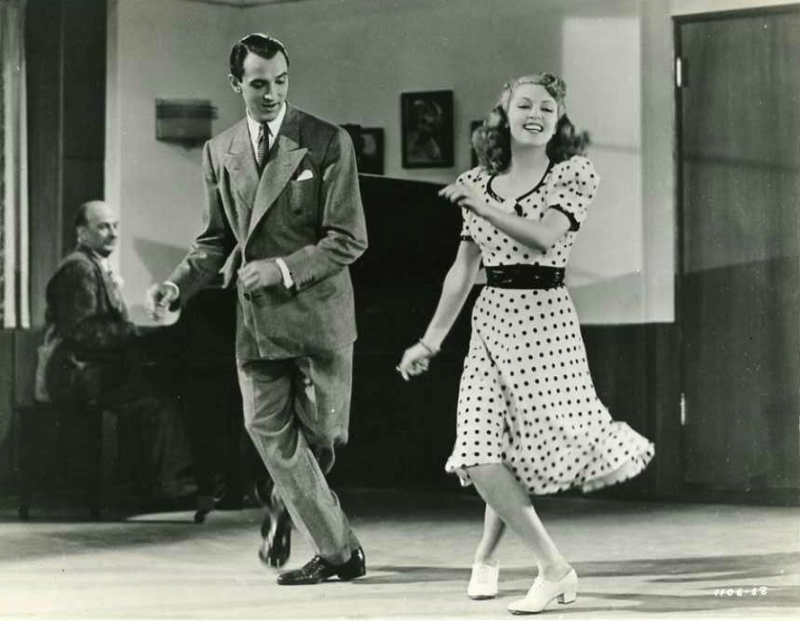 Lana Turner and Lee Bowman, Dancing Co-Ed