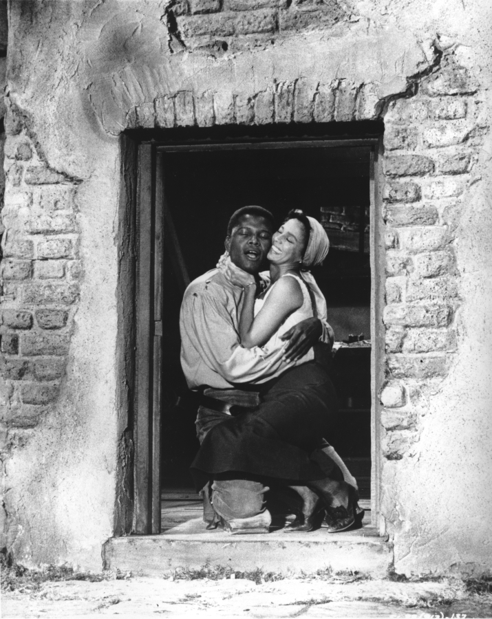 Dorothy Dandridge and Sidney Poitier Porgy and Bess