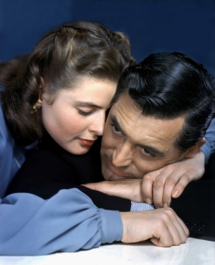 Ingrid Bergman and Cary Grant, Notorious