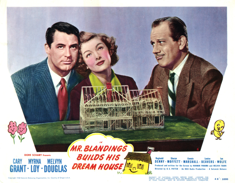 Mr. Blandings Builds His Dream House - Melvyn Douglas, Cary Grant & Myrna Loy