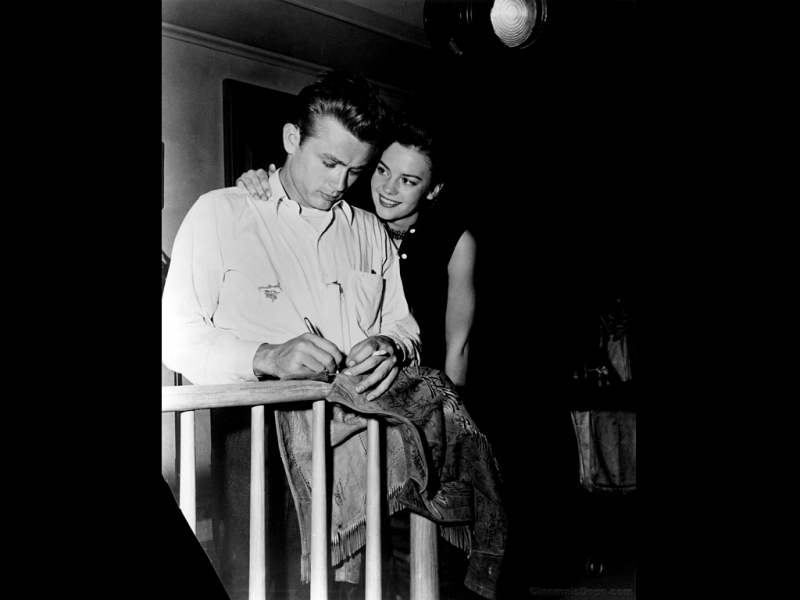 Natalie Wood and James Dean Behind the Scenes of Rebel Without a Cause