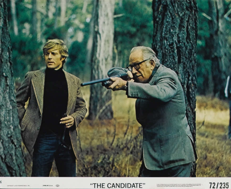 Robert Redford and Melvyn Douglas, The Candidate
