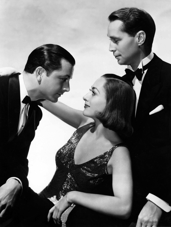 The Bride Wore Red: Joan Crawford Robert Young, and Franchot Tone