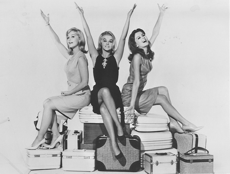 Ann-Margret, Carol Lynley, and Ann-Margret in The Pleasure Seekers