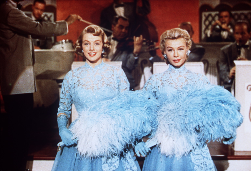 Rosemary Clooney and Vera-Ellen White Christmas