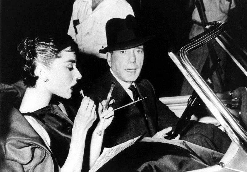 Audrey Hepburn and Humphrey Bogart, Behind the Scenes of Sabrina