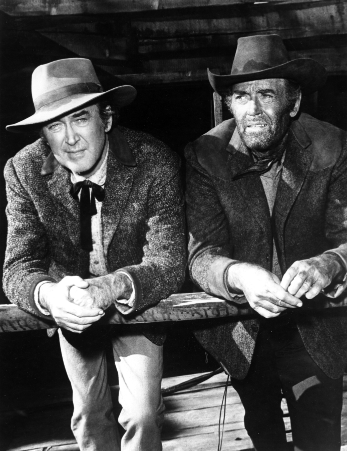 James Stewart and Henry Fonda, The Cheyenne Social Club