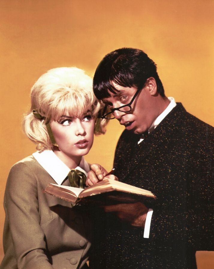 Jerry Lewis and Stella Stevens, The Nutty Professor