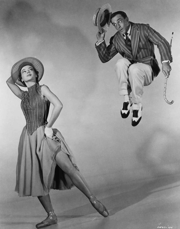 Leslie Caron and Gene Kelly - An American in Paris