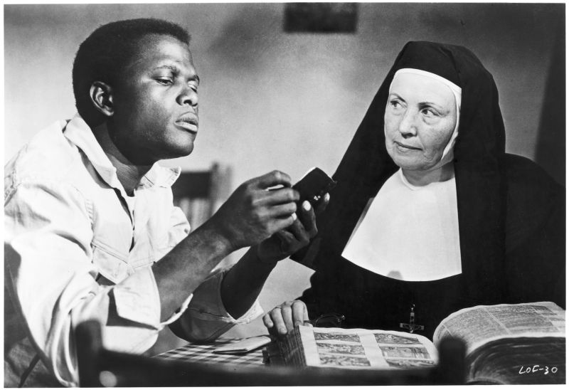 Sidney Poitier and Lilia Skala, Lilies of the Field