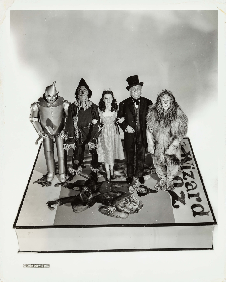 Judy Garland - Dorothy Frank Morgan - The Wizard of Oz Ray Bolger - The Scarecrow Bert Lahr - The Cowardly Lion Jack Haley - The Tin Man Terry - Toto