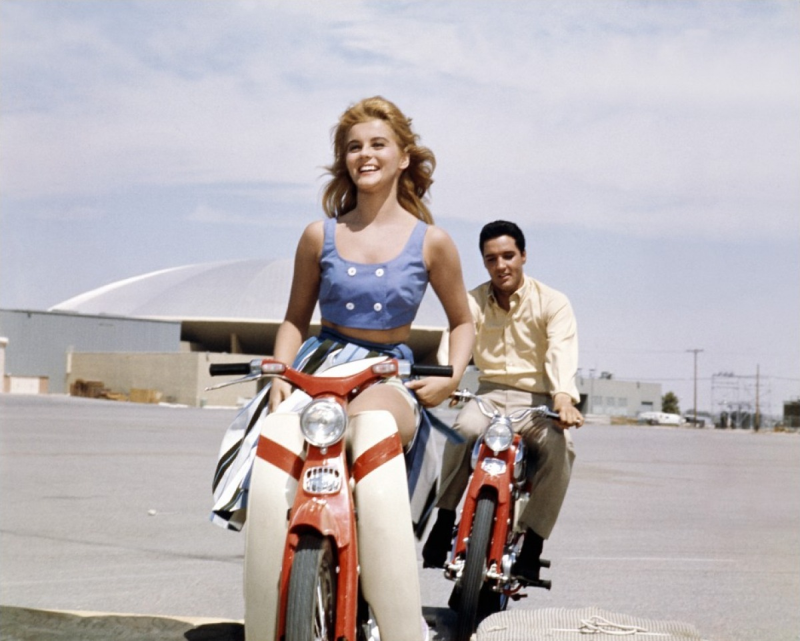 Viva Las Vegas, Ann-Margret and Elvis Presley
