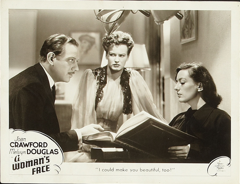 A Woman's Face Lobby Card