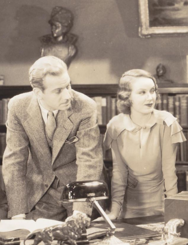 Fay Wray and Melvyn Douglas, The Vampire Bat