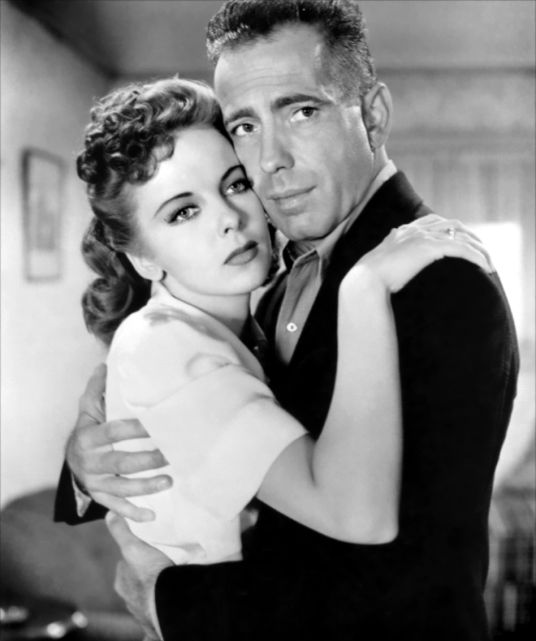 Ida Lupino and Humphrey Bogart, Publicity Photo for High Sierra