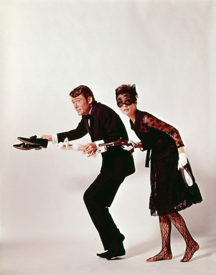 Audrey Hepburn and Peter O'Toole: How to Steal a Million Promo Shot
