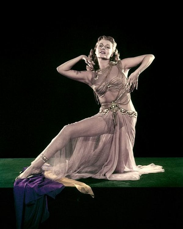 Rita Hayworth, Salome Publicity Picture