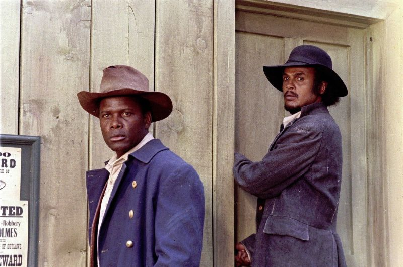 Sidney Poitier and Harry Belafonte, Buck and the Preacher
