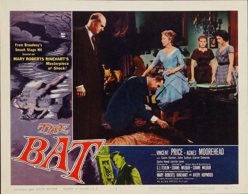 The Bat Lobby Card