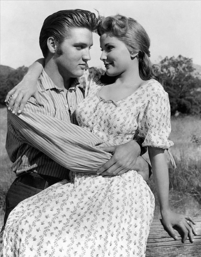 Elvis Presley and Debra Paget, Love Me Tender