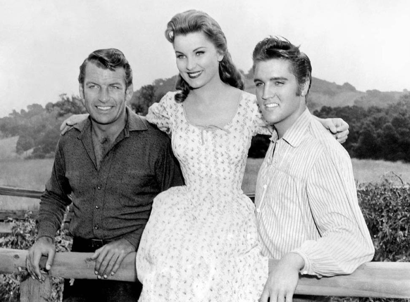 Richard Egan, Debra Paget, and Elvis - Love Me Tender