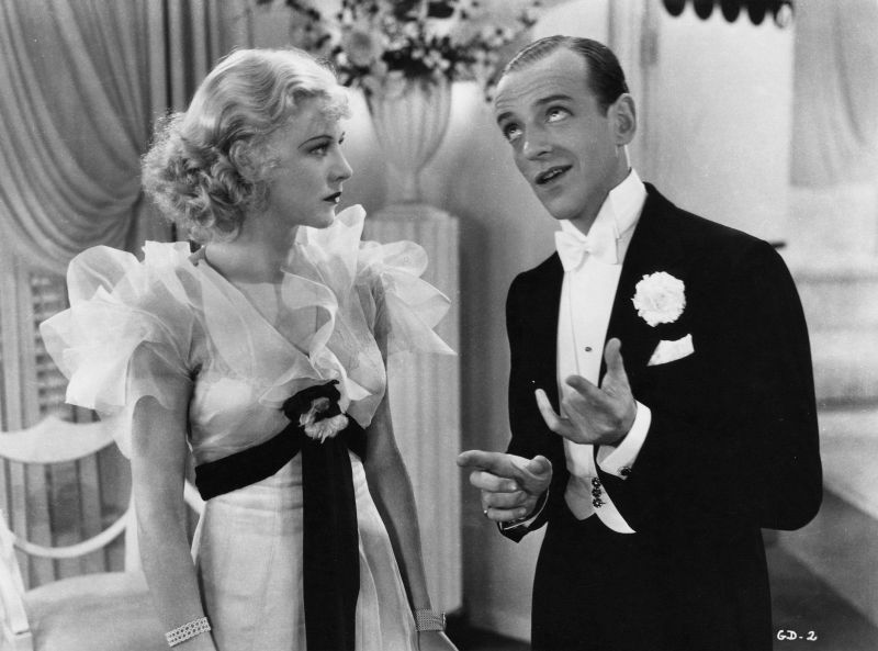 Ginger Rogers and Fred Astaire, The Gay Divorcee