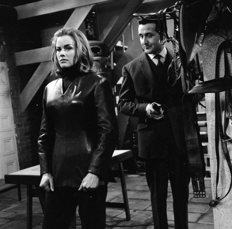 Honor Blackman and Patrick Macnee The Avengers, Season 2