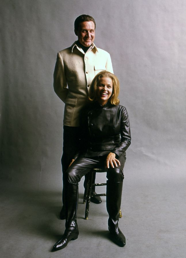 Honor Blackman and Patrick Macnee The Avengers Season 3