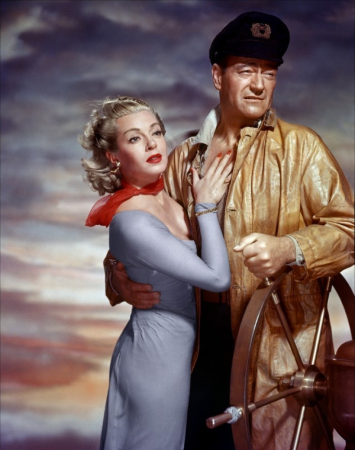 Lana Turner and John Wayne, The Sea Chase