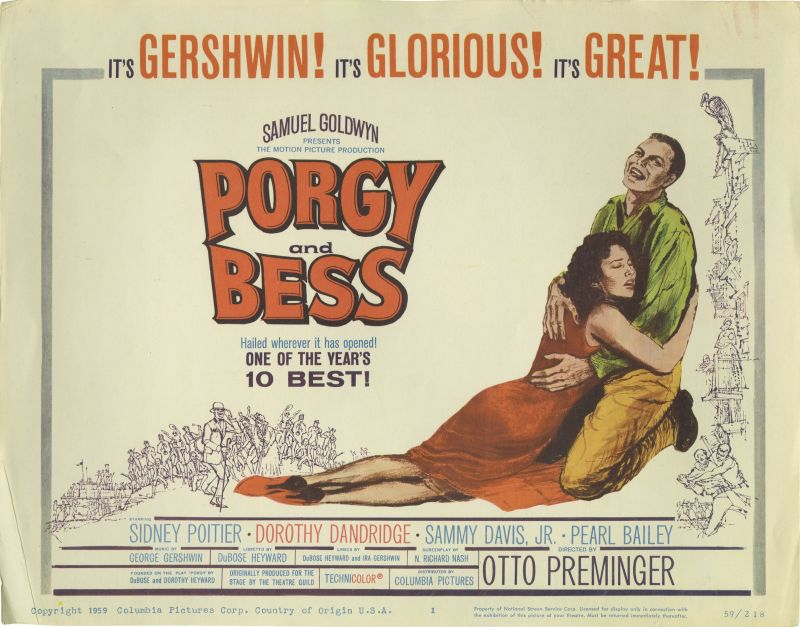 Porgy and Bess Lobby Card