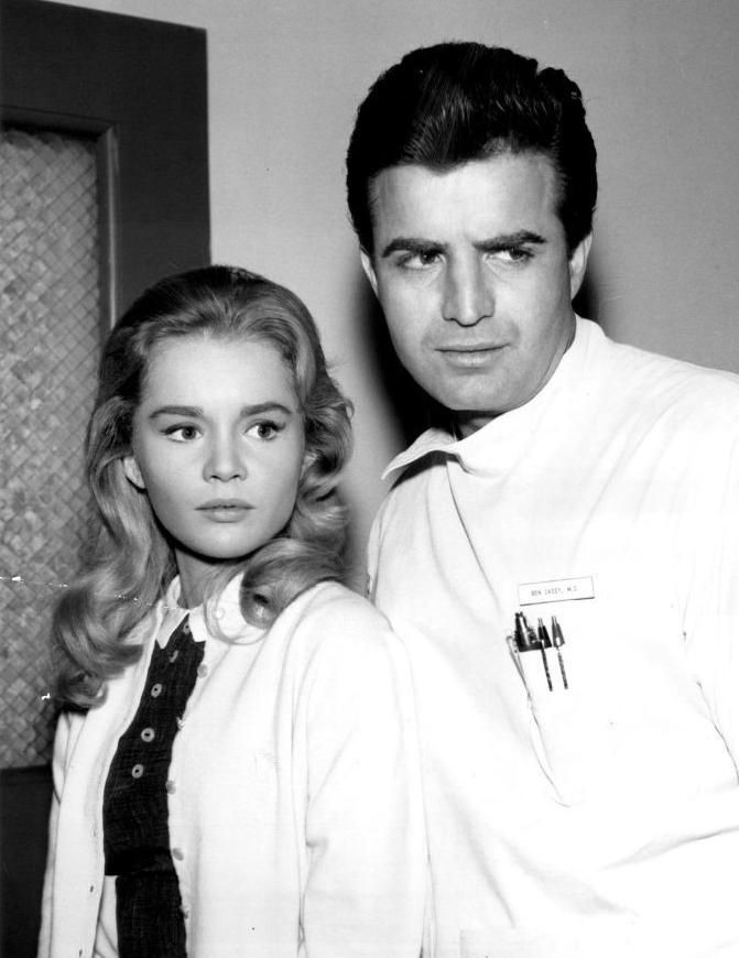 Tuesday Weld and Vince Edwards, Ben Casey