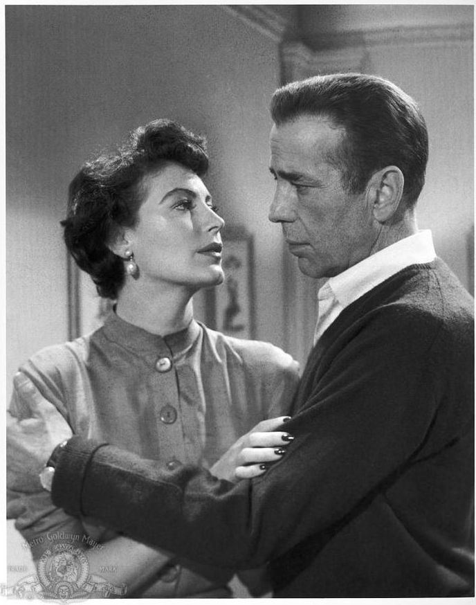 Ava Gardner and Humphrey Bogart, The Barefoot Contessa