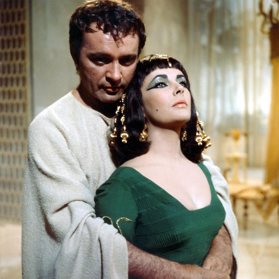 Elizabeth Taylor and Richard Burton, Cleopatra