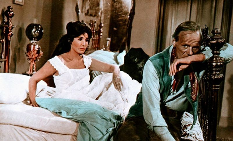 Lena Horne and Richard Widmark, Death of a Gunfighter