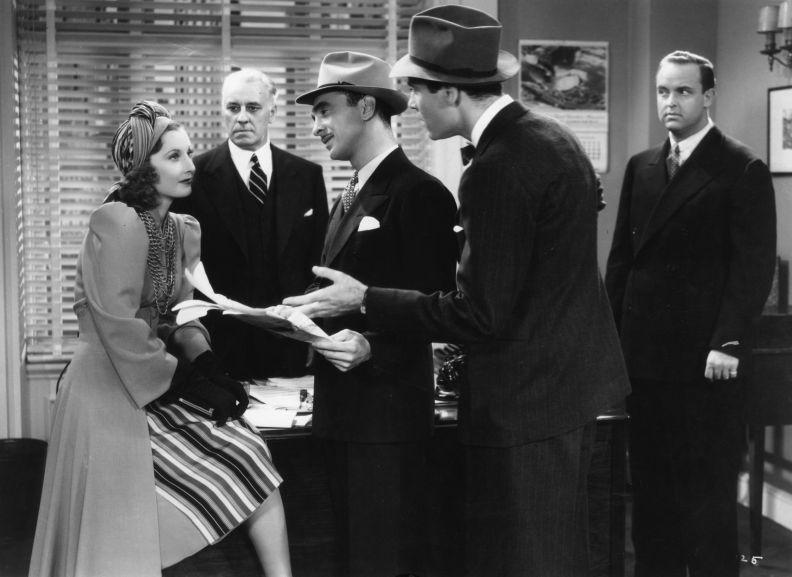 The Mad Miss Manton: Barbara Stanwyck and Henry Fonda