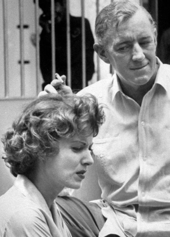 Behind the Scenes, Maureen O'Hara and Alec Guinness
