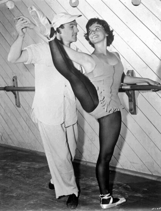 Gene Kelly and Leslie Caron, Behind the Scenes of An American in Paris