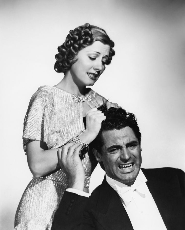 Irene Dunne and Cary Grant The Awful Truth