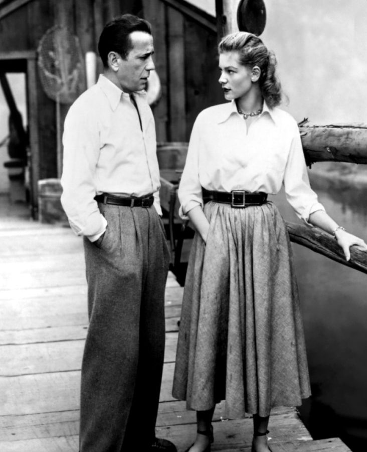 Lauren Bacall and Humphrey Bogart, Key Largo