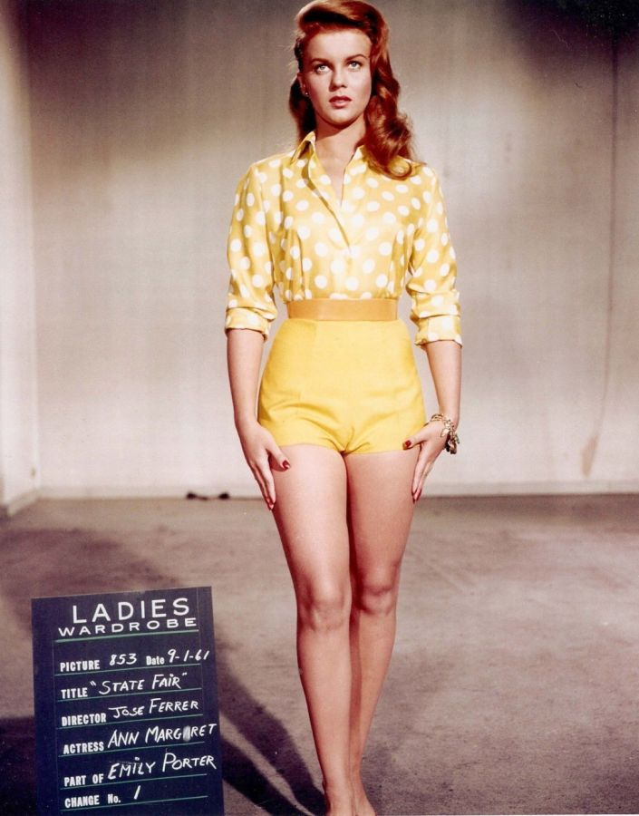 Ann-Margret, State Fair Wardrobe Test