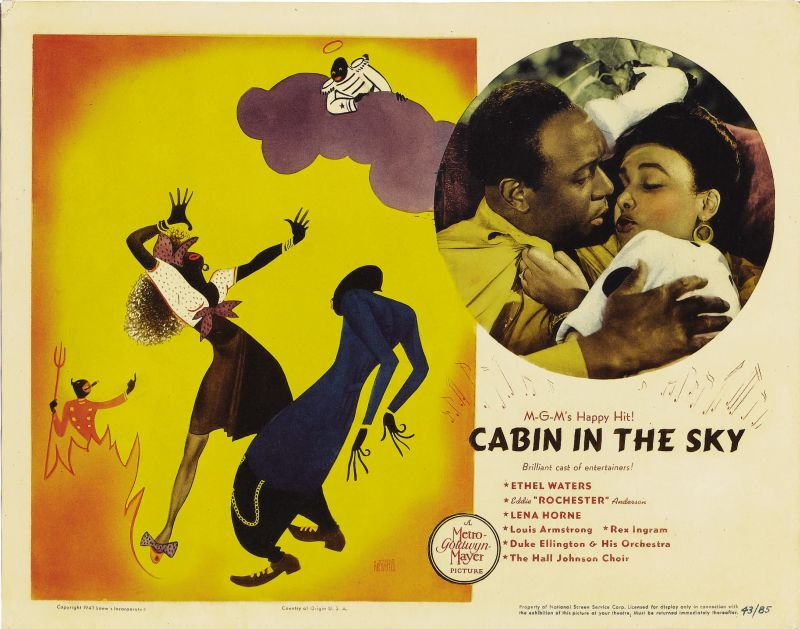 Cabin in the Sky Lobby Card